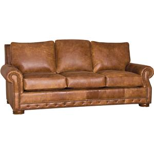 Traditional Sofa with Low Bun Feet