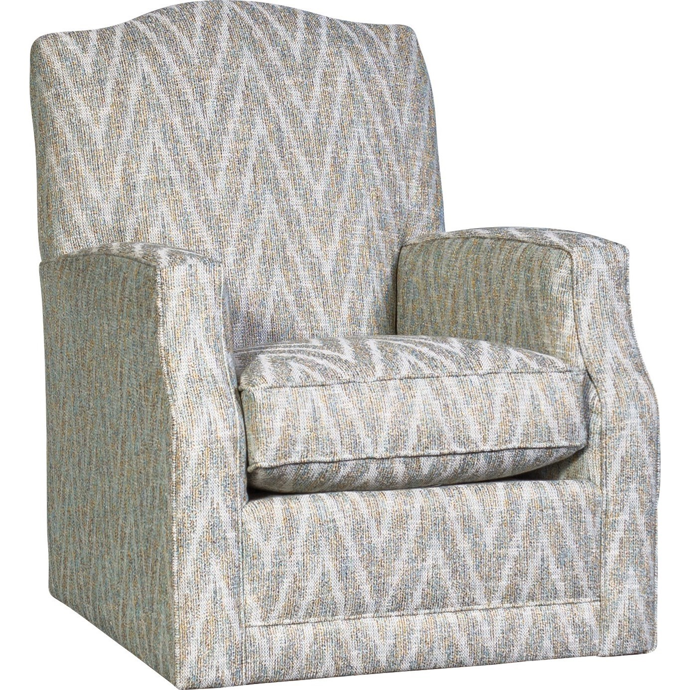 3100 Swivel Glider by Mayo at Wilson's Furniture