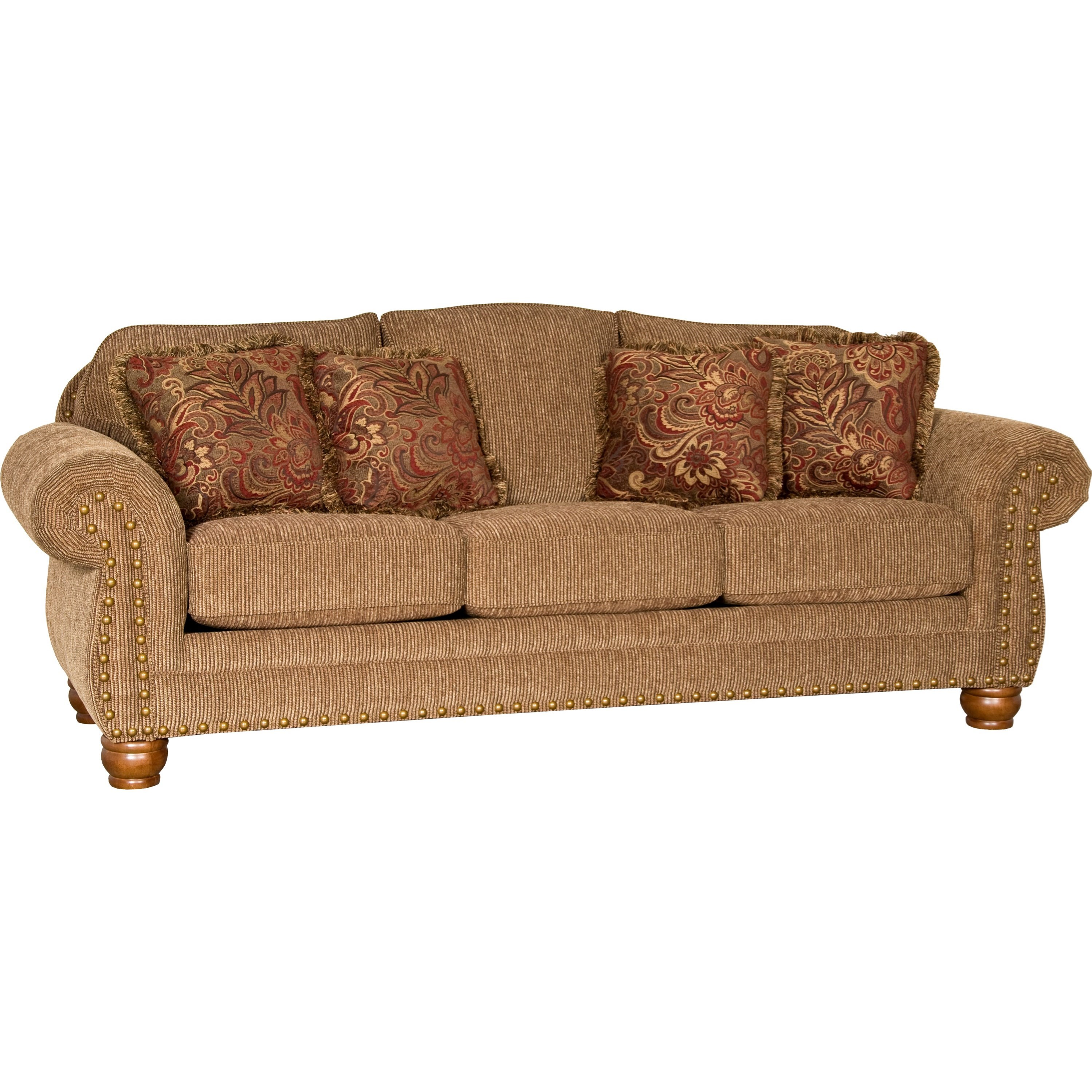 3180 Traditional Sofa by Mayo at Wilson's Furniture