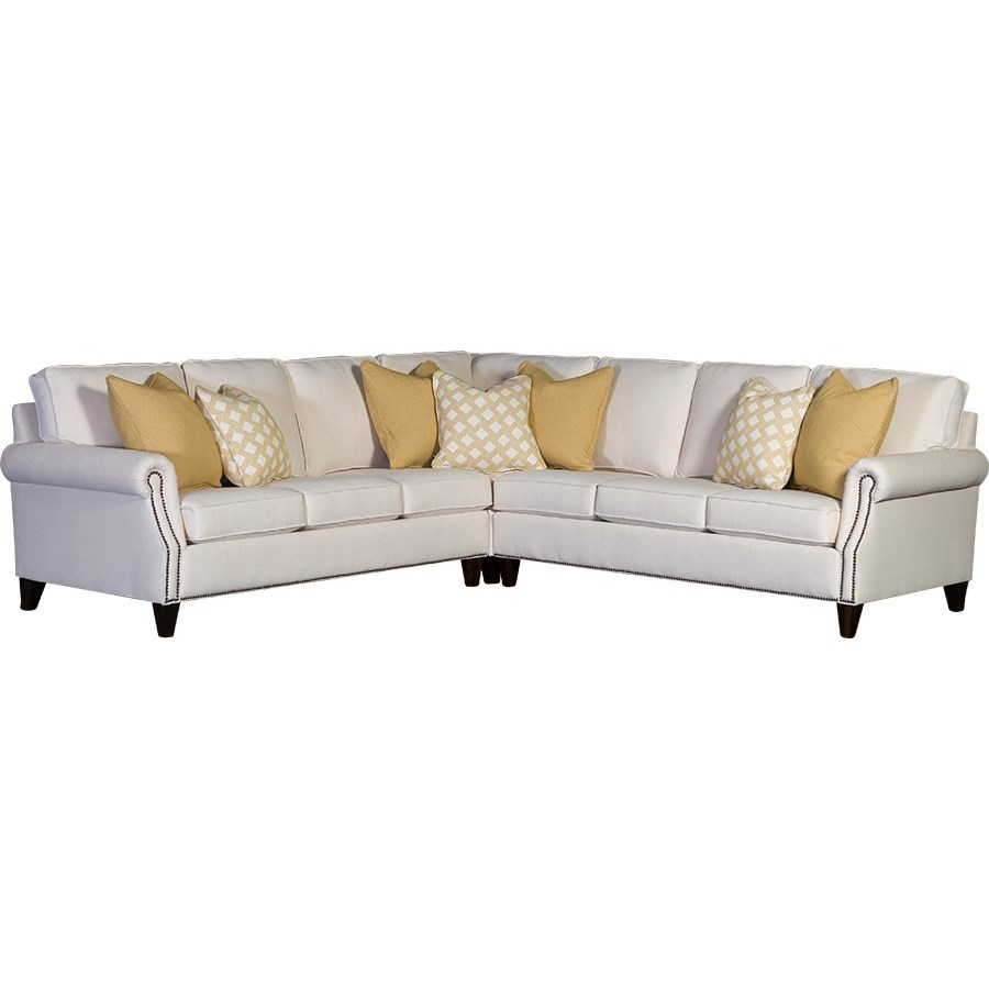 3311 6 Seat Sectional Sofa by Mayo at Wilson's Furniture