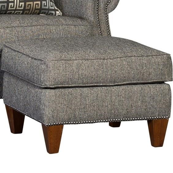 3311 Transitional Ottoman by Mayo at Story & Lee Furniture