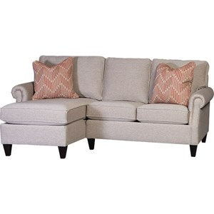 Transitional 3-Seat Sectional Sofa