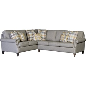 Transitional 5-Seat Sectional Sofa