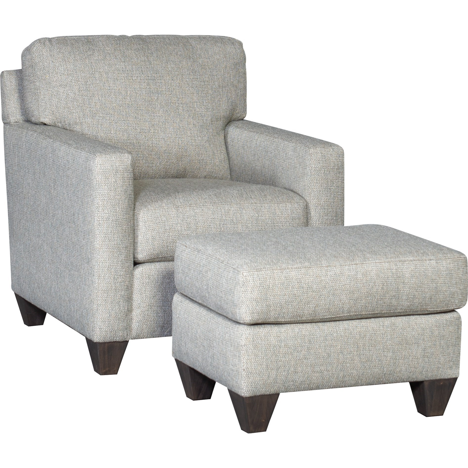 3488 Chair and Ottoman Set by Mayo at Wilson's Furniture