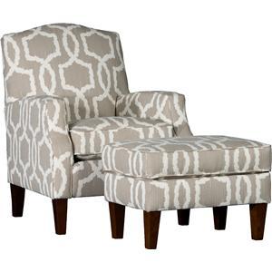 Mayo 3725 Chair & Ottoman Set