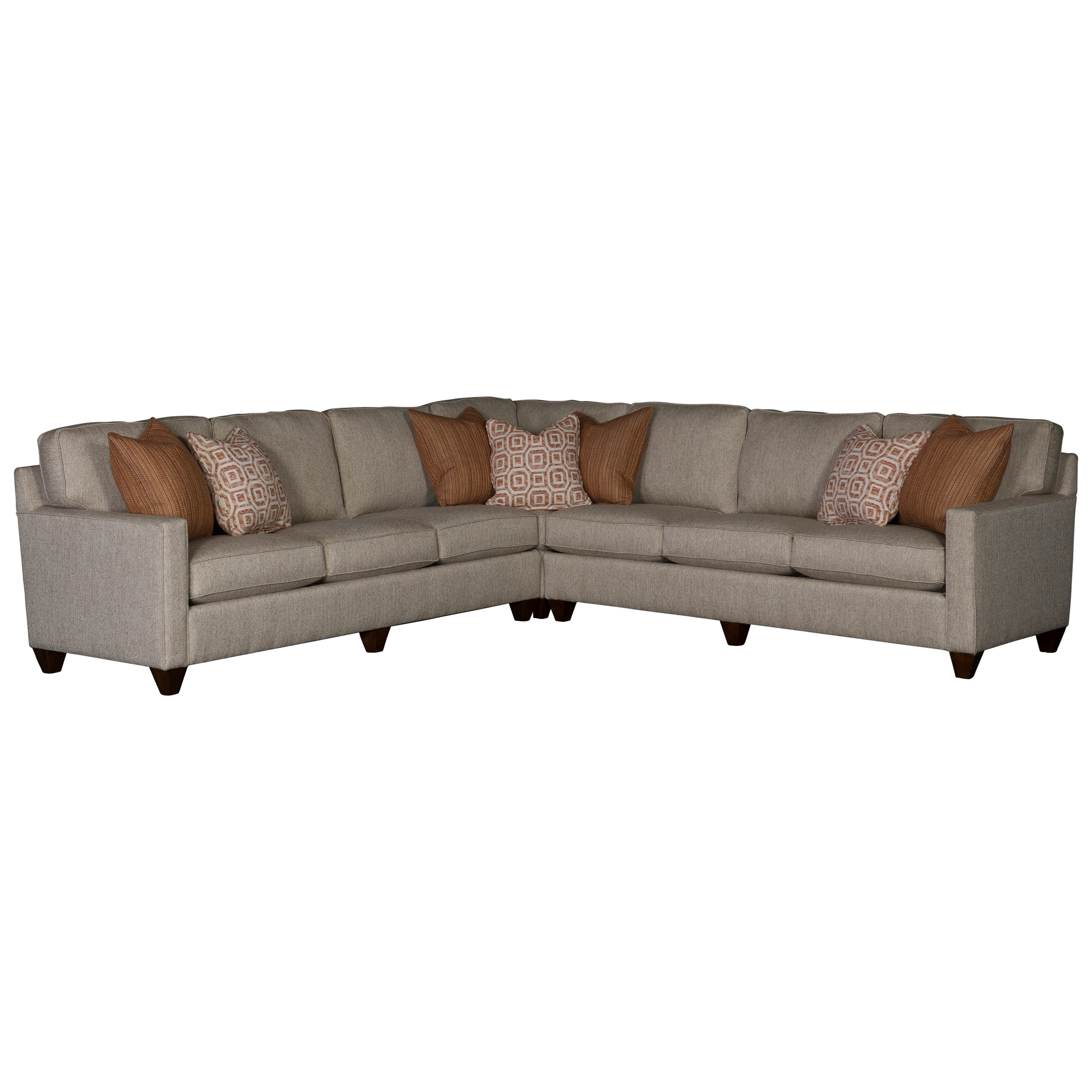 3830 Sectional Sofa with 6 Seats by Mayo at Pedigo Furniture