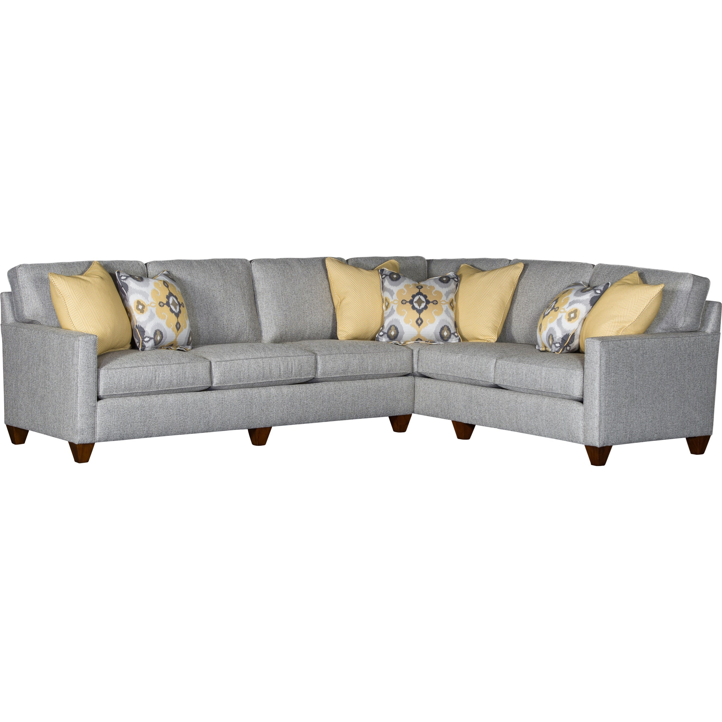 3830 2 Piece Sectional by Mayo at Pedigo Furniture