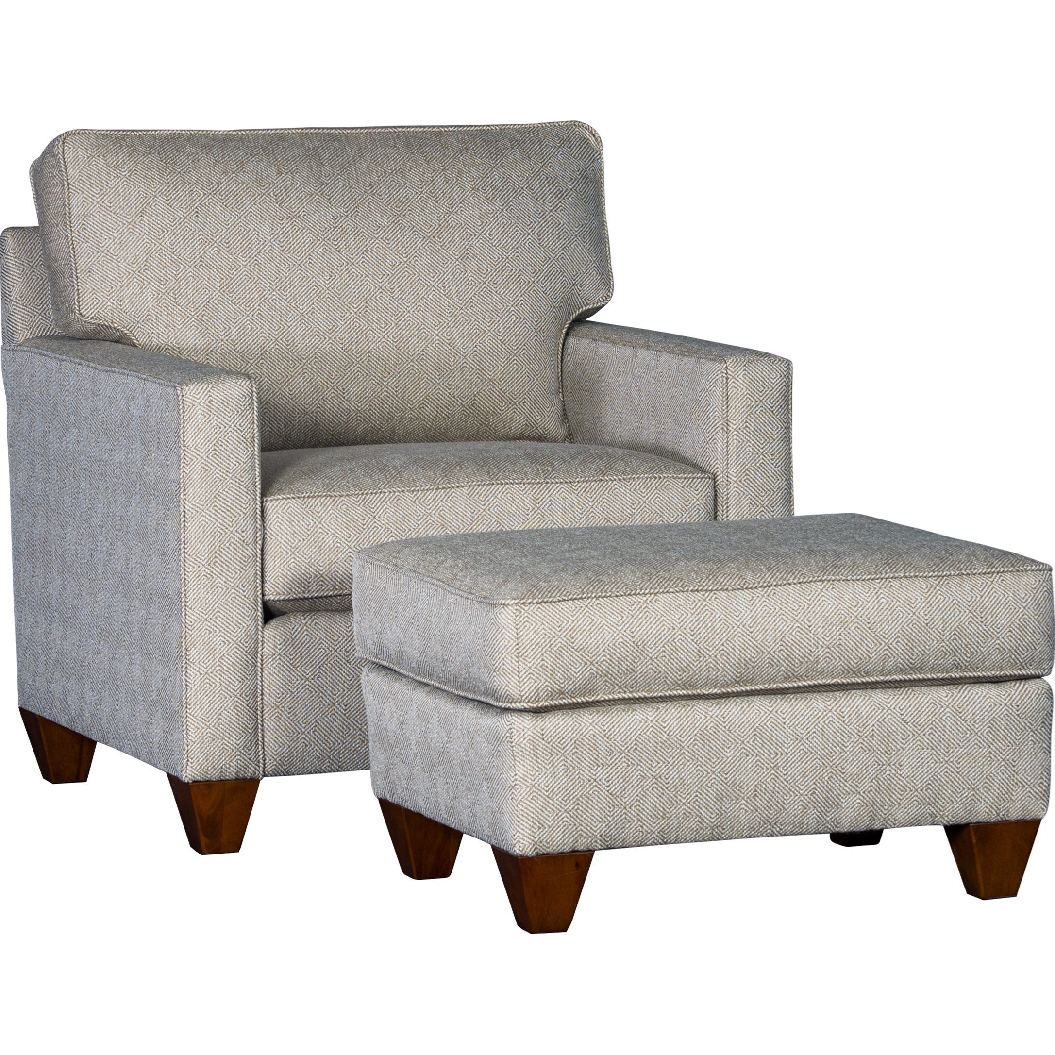 3830 Chair and Ottoman by Mayo at Pedigo Furniture