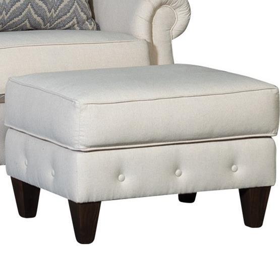 4040 Transitional Ottoman by Mayo at Pedigo Furniture