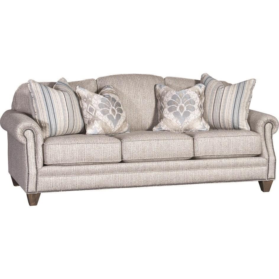 4290 Traditional Styled Sofa by Mayo at Pedigo Furniture