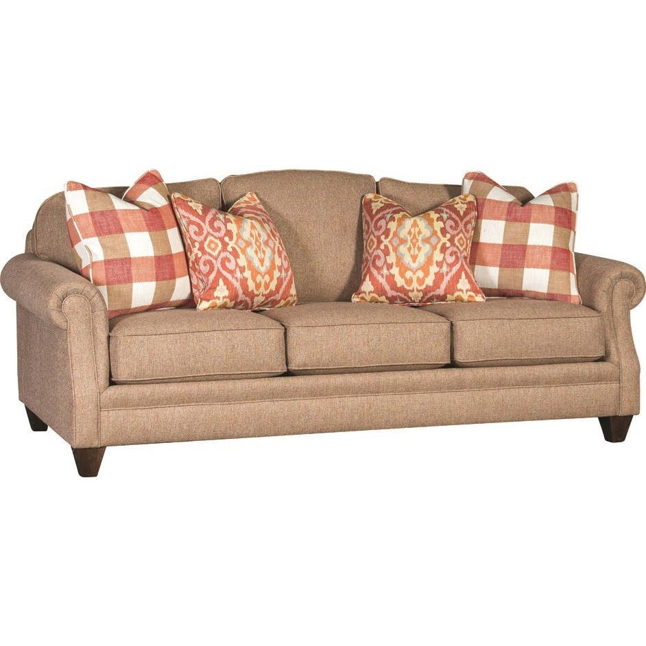 4290 Traditional Styled Sofa by Mayo at Wilson's Furniture