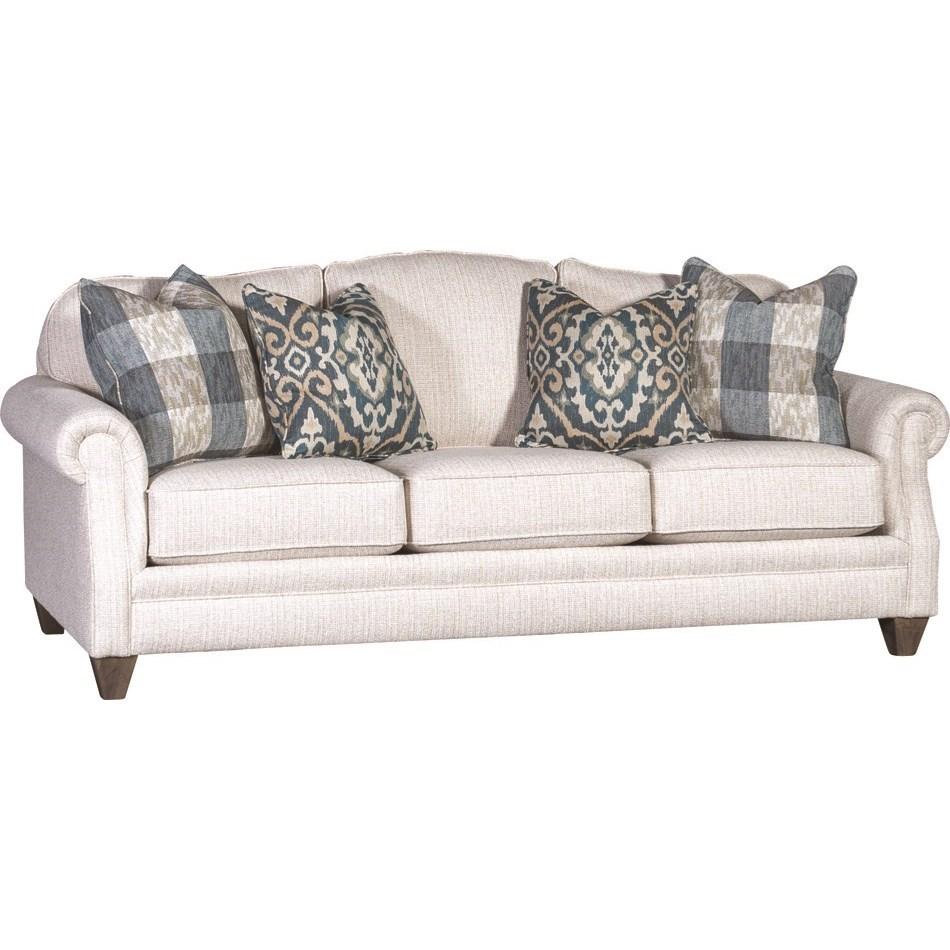 4290 Traditional Styled Sofa by Mayo at Johnny Janosik