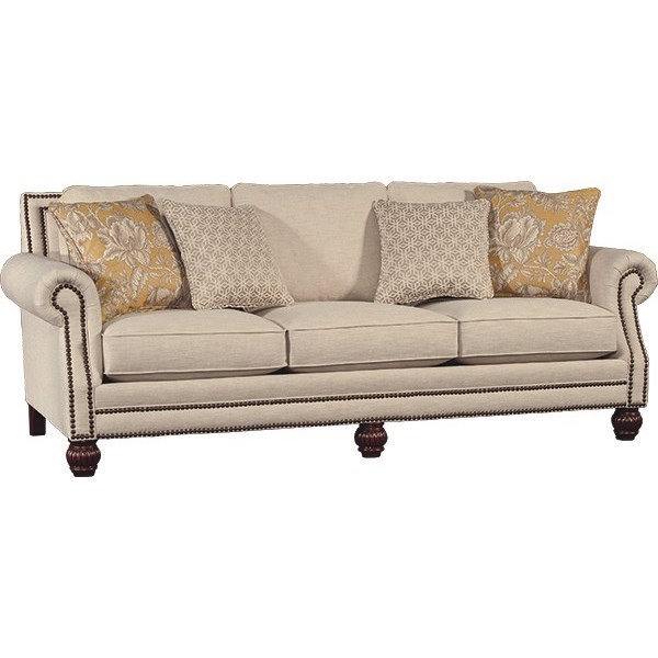 4300 Mayo Traditional Sofa by Mayo at Miller Waldrop Furniture and Decor