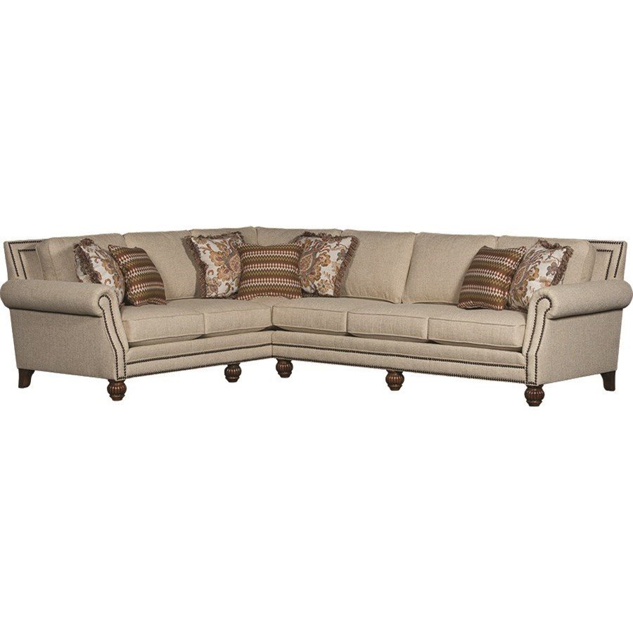 4300 Mayo Traditional Sectional by Mayo at Wilson's Furniture