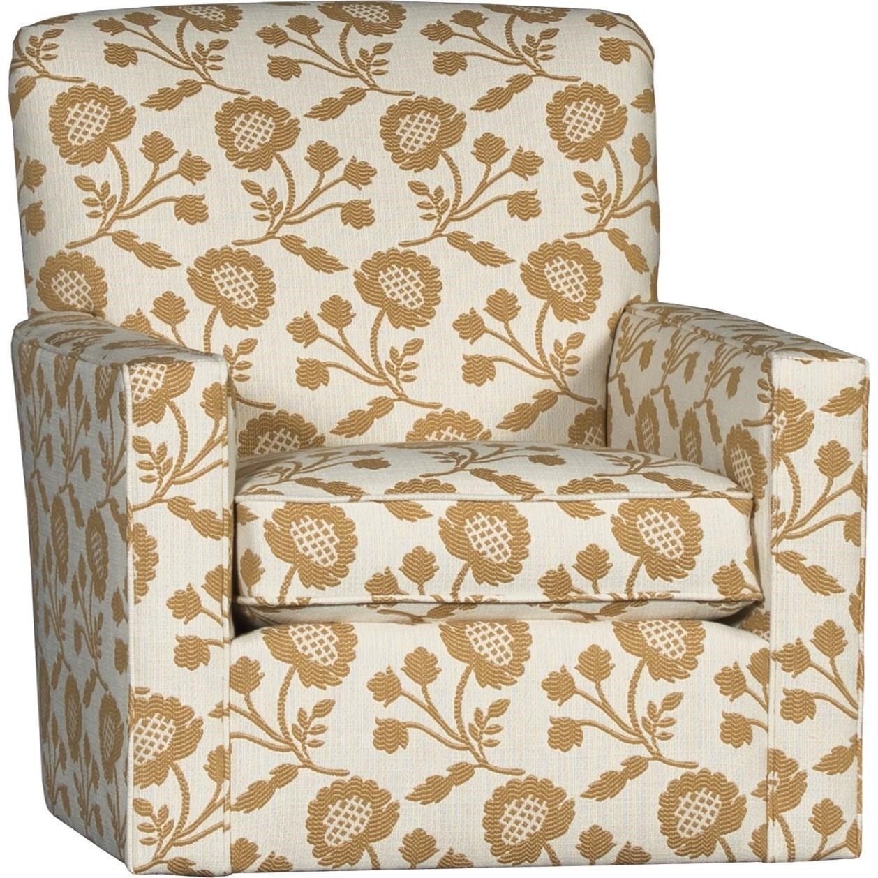 5000 Swivel Glider by Mayo at Wilson's Furniture