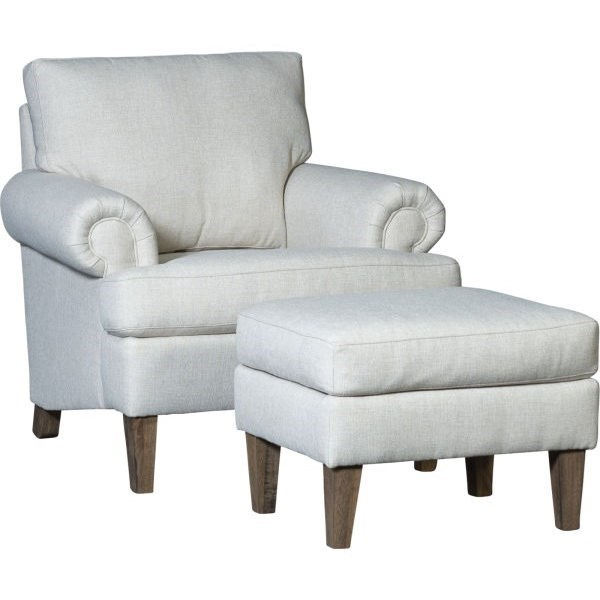 5070 Chair and Ottoman by Mayo at Wilcox Furniture