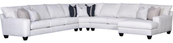5151 4 Piece Sectional Sofa by Mayo at Johnny Janosik