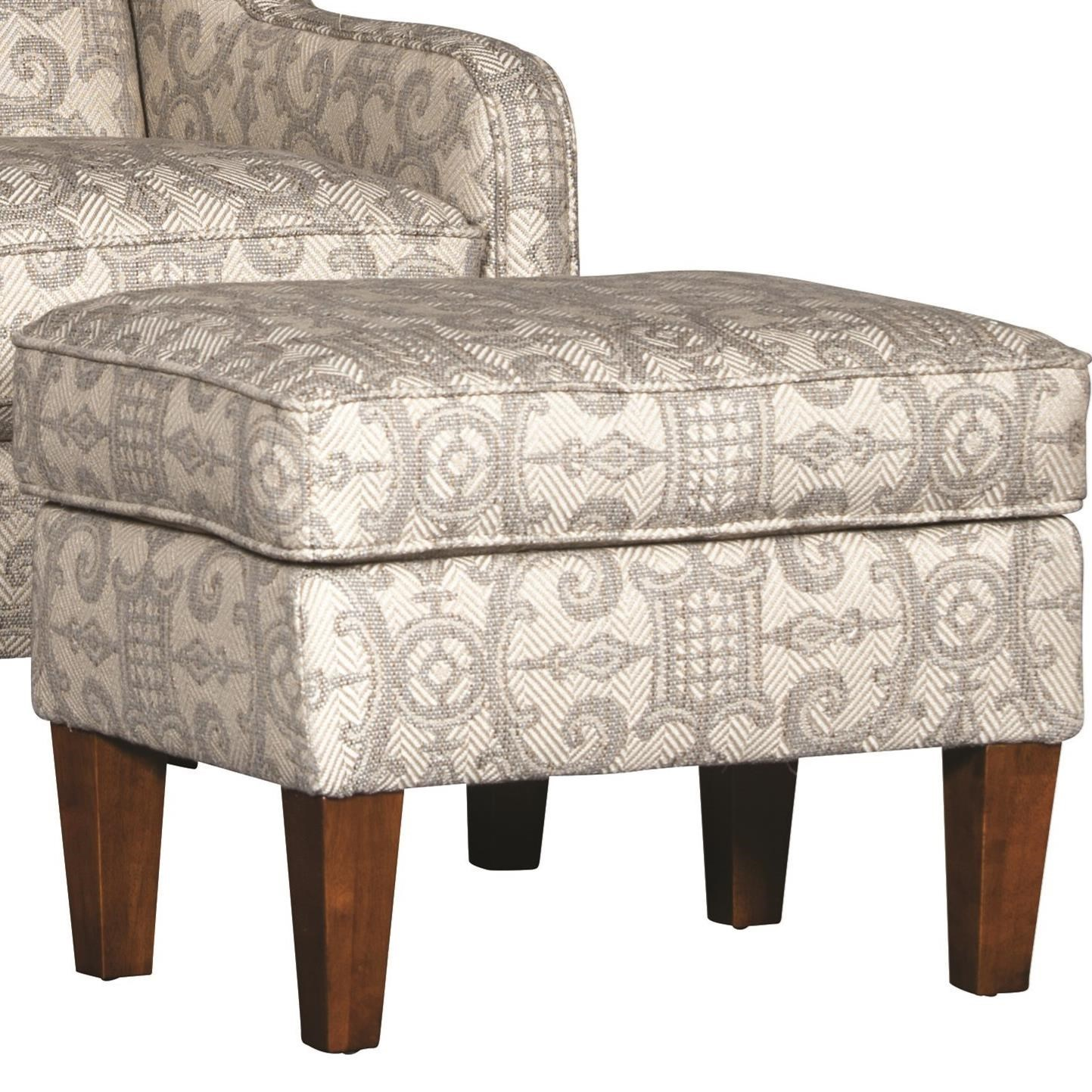 5520 Ottoman by Mayo at Wilson's Furniture