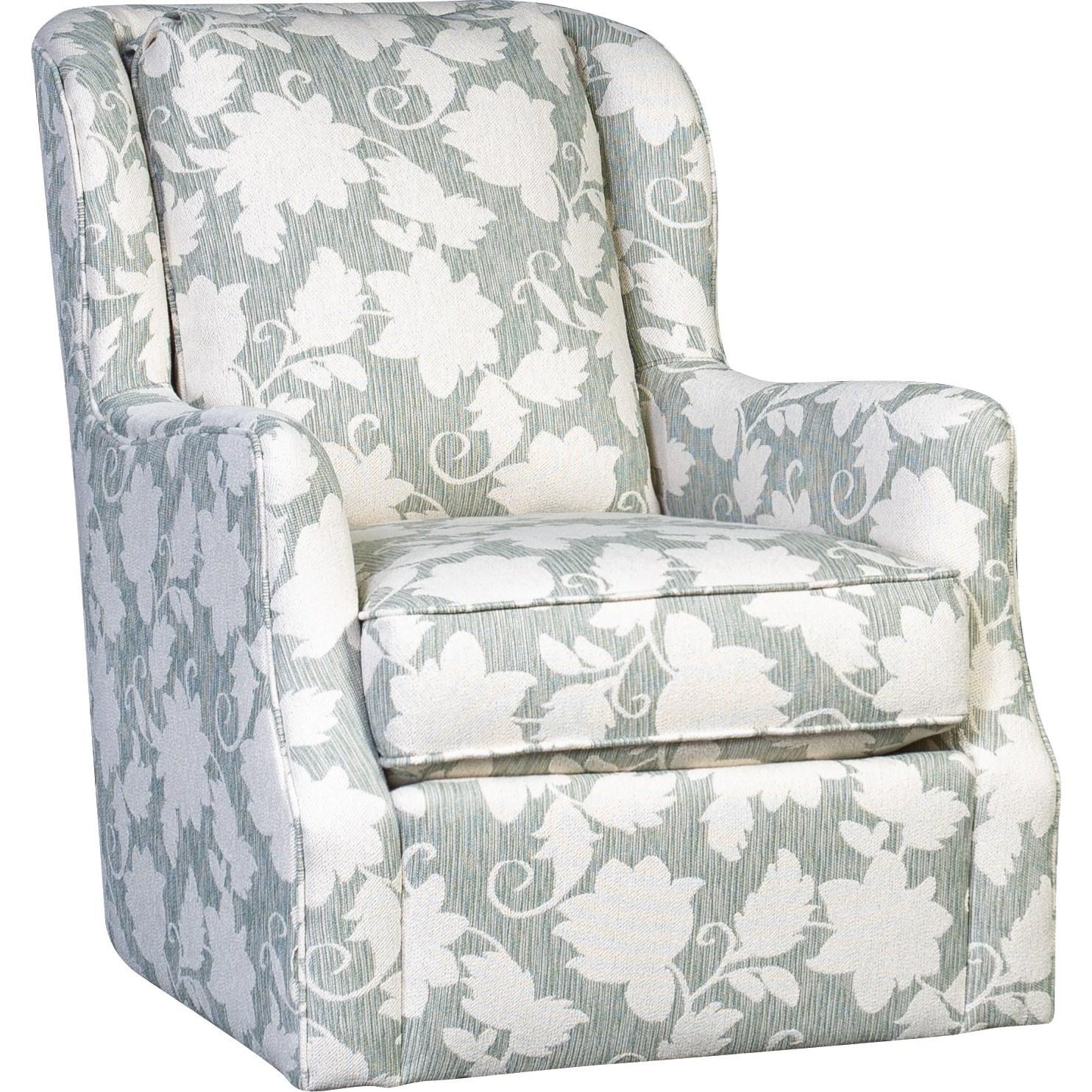 5656 Swivel Chair by Mayo at Pedigo Furniture