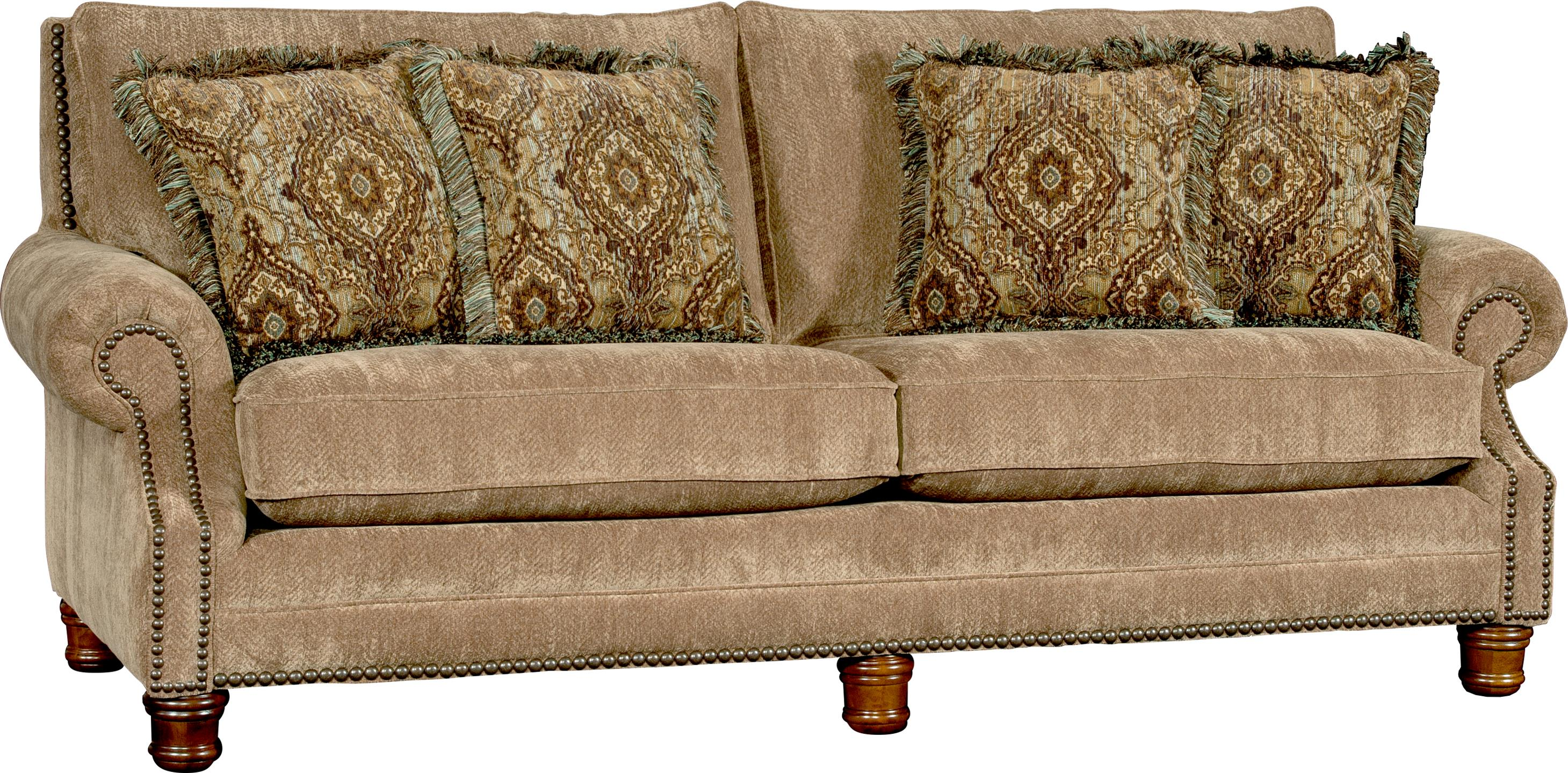 5790 Traditional Sofa by Mayo at Pedigo Furniture