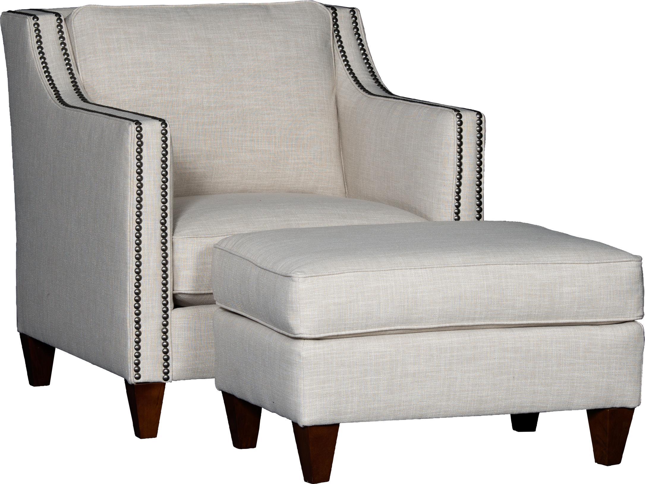 6170 Chair & Ottoman Set by Mayo at Pedigo Furniture
