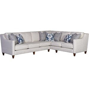 Track Arm Sectional with RAF Corner Sofa