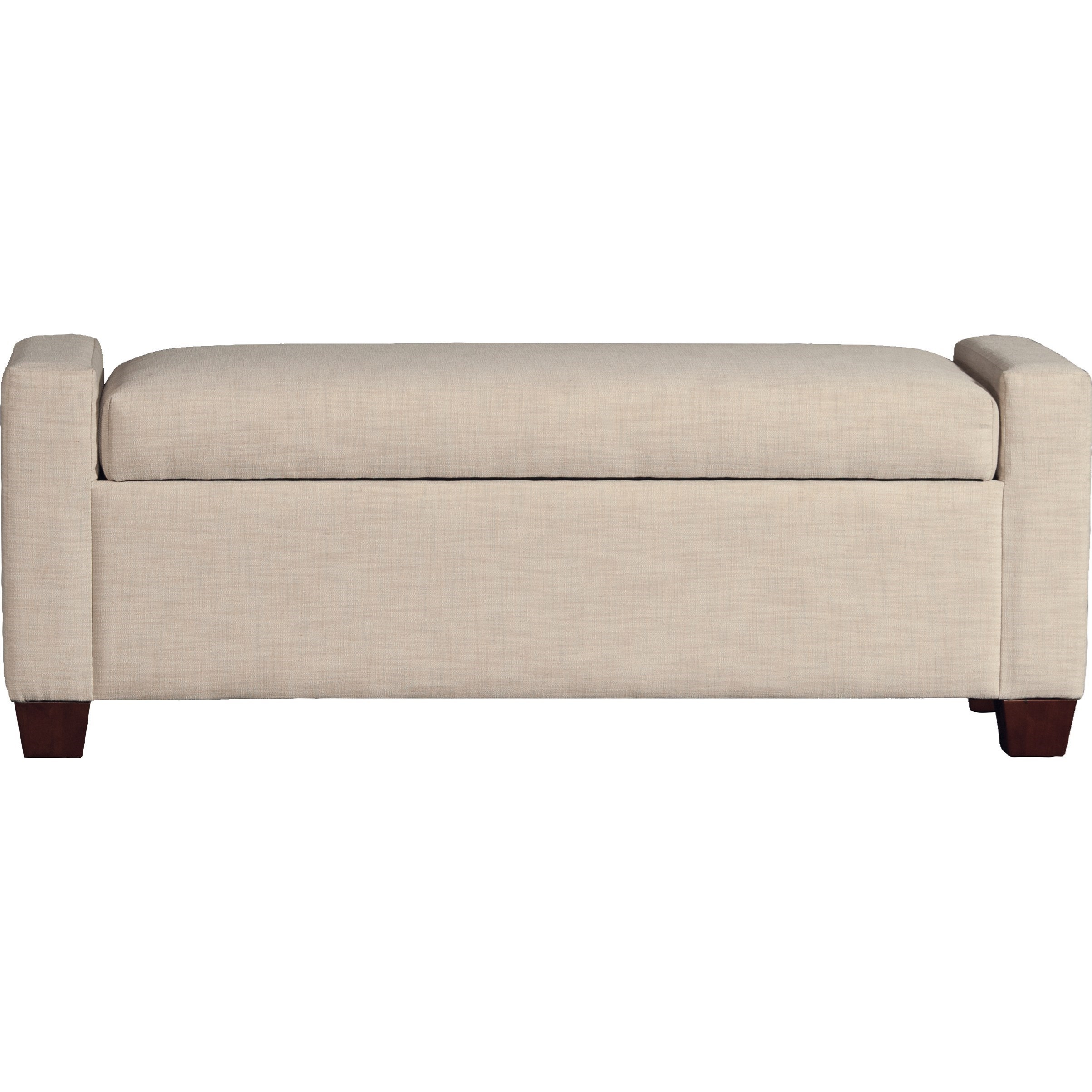 7120 Standard Storage Bench by Mayo at Pedigo Furniture
