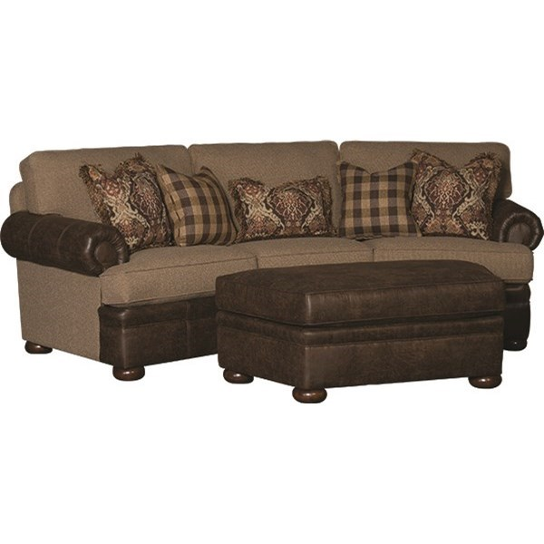 7500 Conversational Sofa by Mayo at Wilcox Furniture