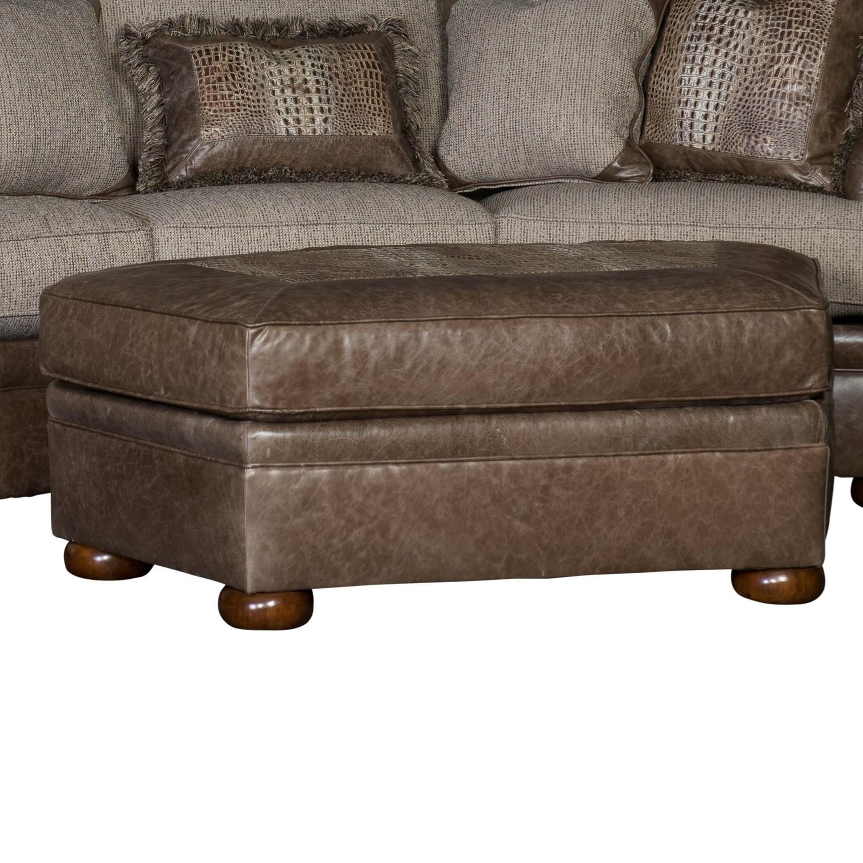 7500 Table Ottoman by Mayo at Wilcox Furniture