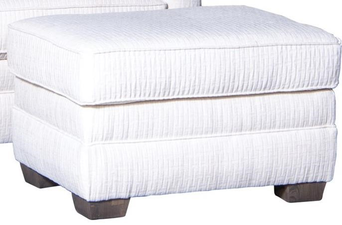 8118 Ottoman by Mayo at Wilcox Furniture
