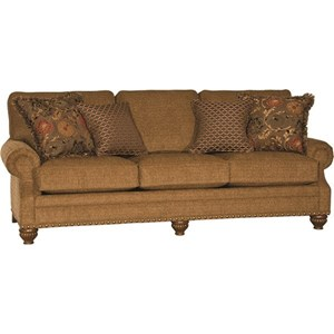 Transitional Sofa with Large Nail Head Trim