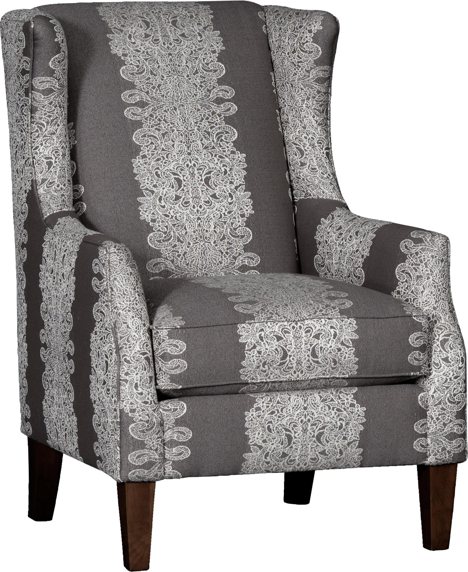 8840 Wing Chair by Mayo at Pedigo Furniture