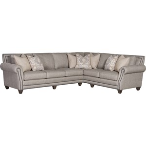 2-Piece Sectional with RAF Corner Sofa