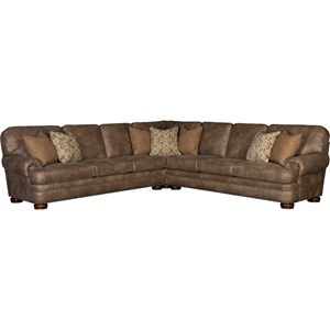 Six Seat Sectional Sofa