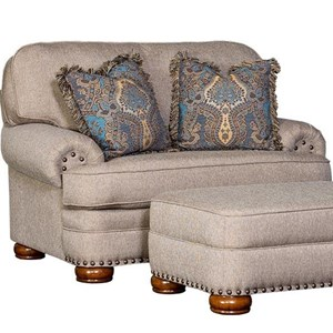 Traditional Upholstered Chair