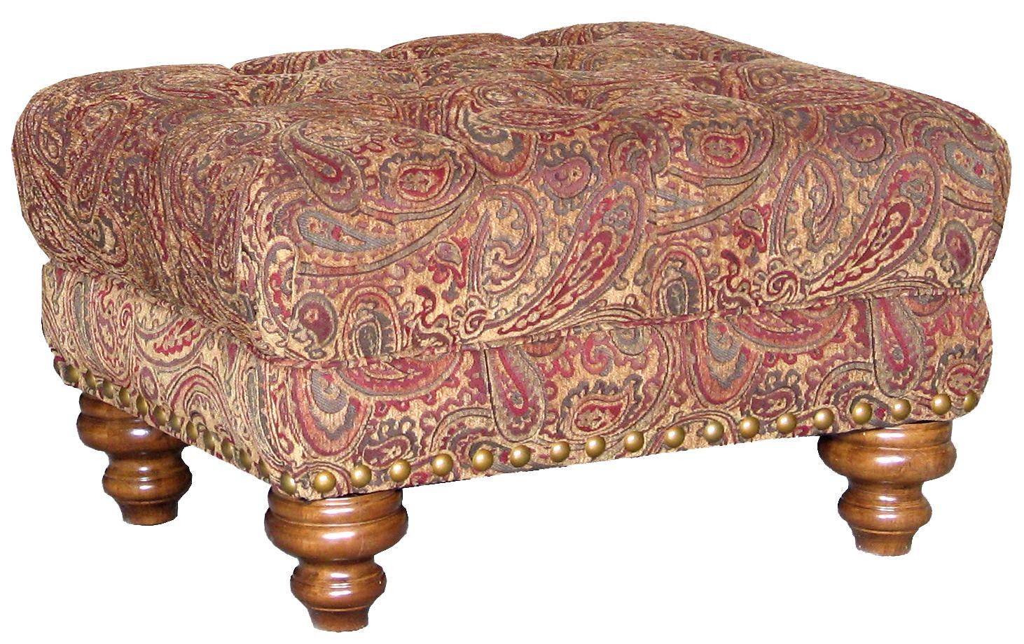9310 Ottoman by Mayo at Miller Waldrop Furniture and Decor