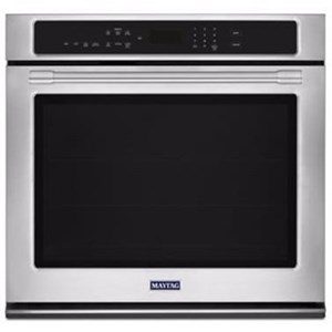 "Maytag Built-In Electric Single Oven 27"" Single Wall Oven - 4.3 Cu. Ft."