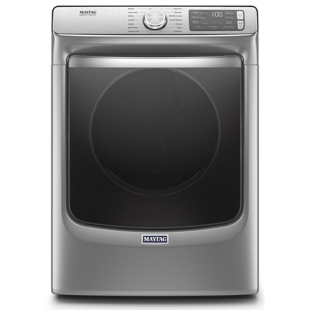 Front Load Electric Dryers 7.3 cu. ft. Smart Front Load Electric Dryer by Maytag at Furniture and ApplianceMart