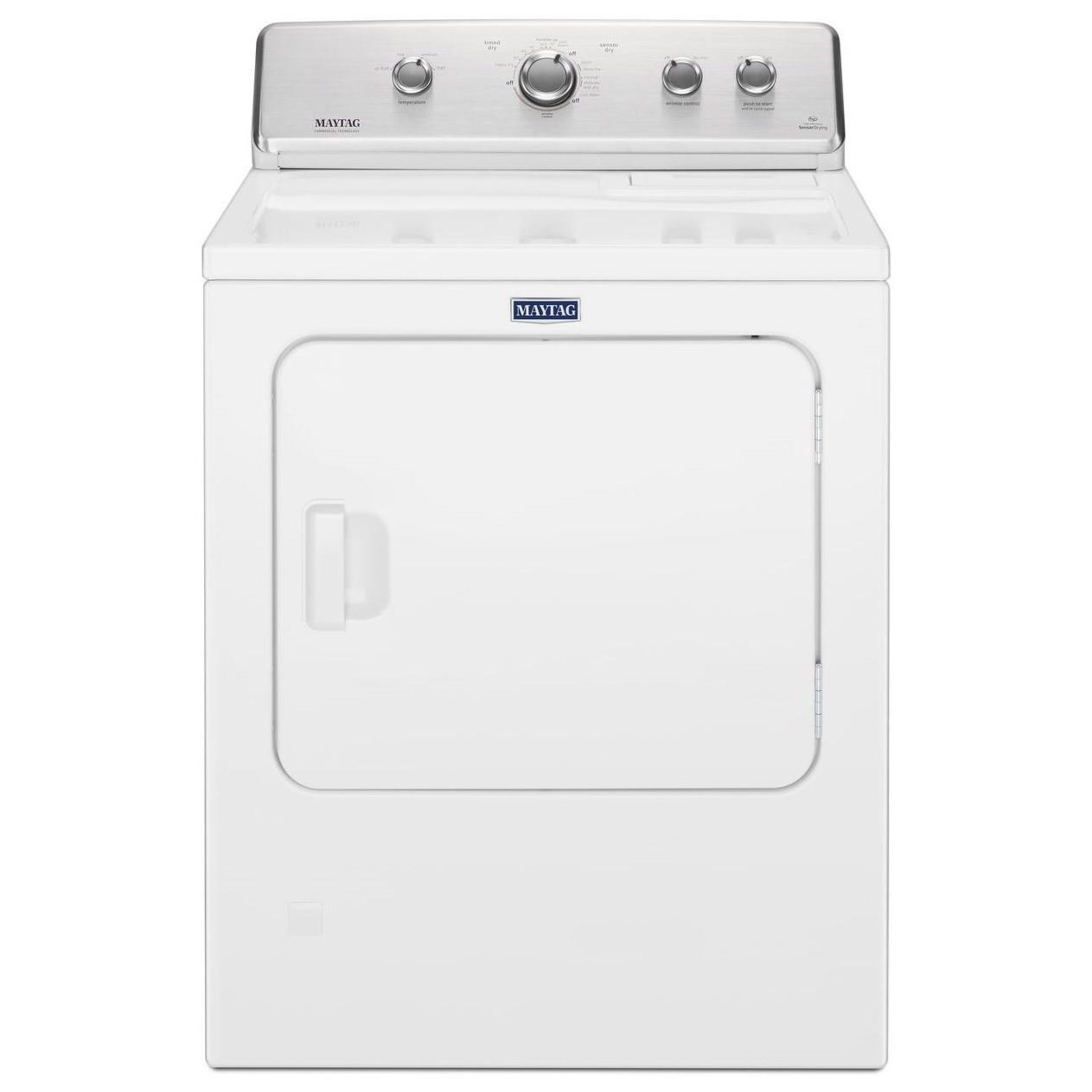 Front Load Electric Dryers Large Capacity Top Load Dryer by Maytag at Wilcox Furniture