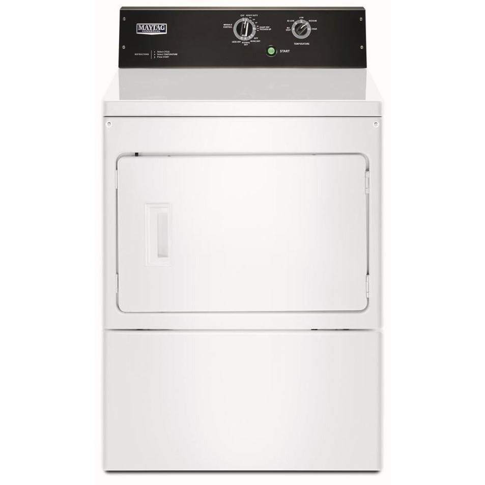 Front Load Electric Dryers 7.4 cu. ft. Commercial-Grade Home Dryer by Maytag at Furniture and ApplianceMart
