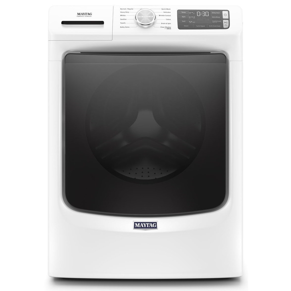 Front Load Washers 4.8 Cu. Ft. Front Load Washer by Maytag at Furniture and ApplianceMart