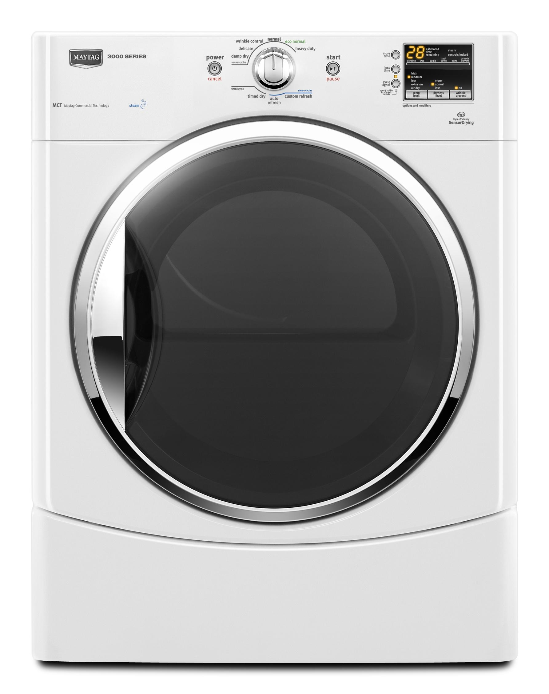 Gas Dryers 6.7 Cu. Ft. Front-Load Gas Dryer by Maytag at Furniture and ApplianceMart