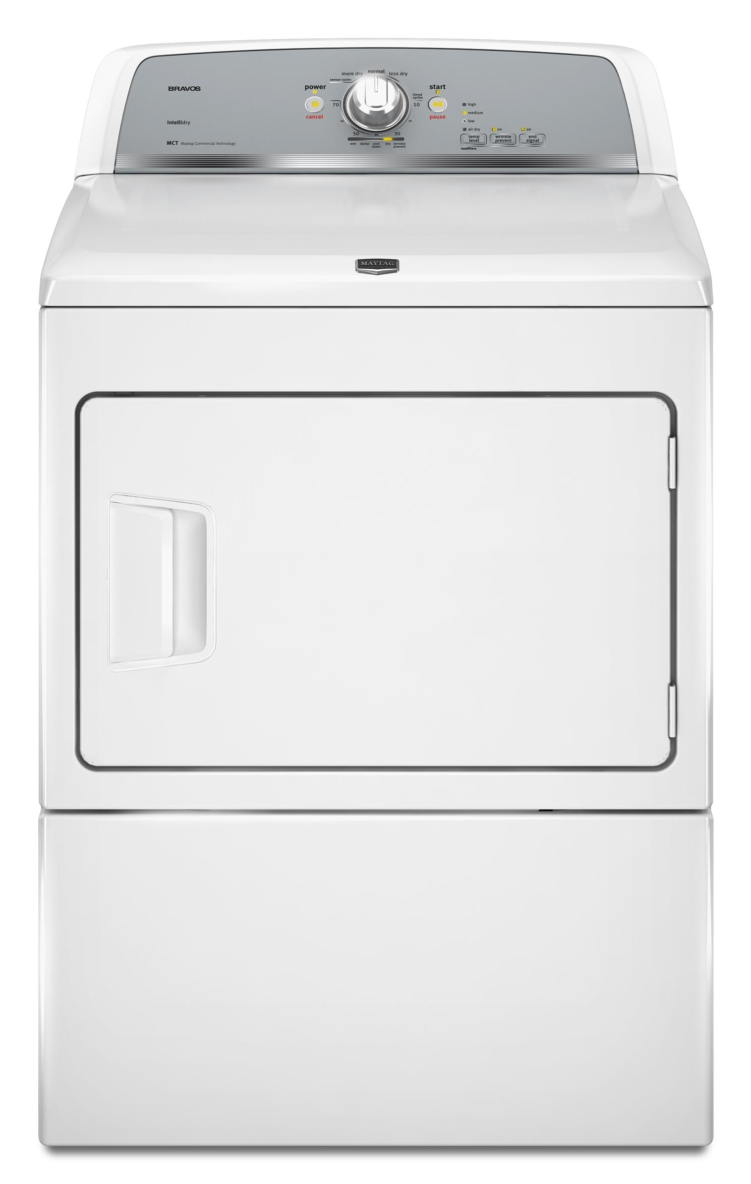 Gas Dryers 7.4 Cu. Ft. Front-Load Gas Dryer by Maytag at Pedigo Furniture