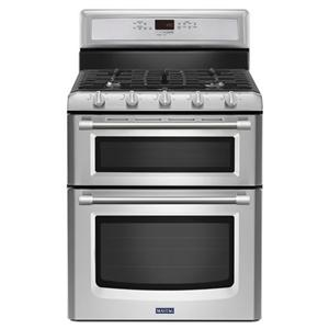 Maytag Gas Ranges Gemini® Double Oven Gas Stove