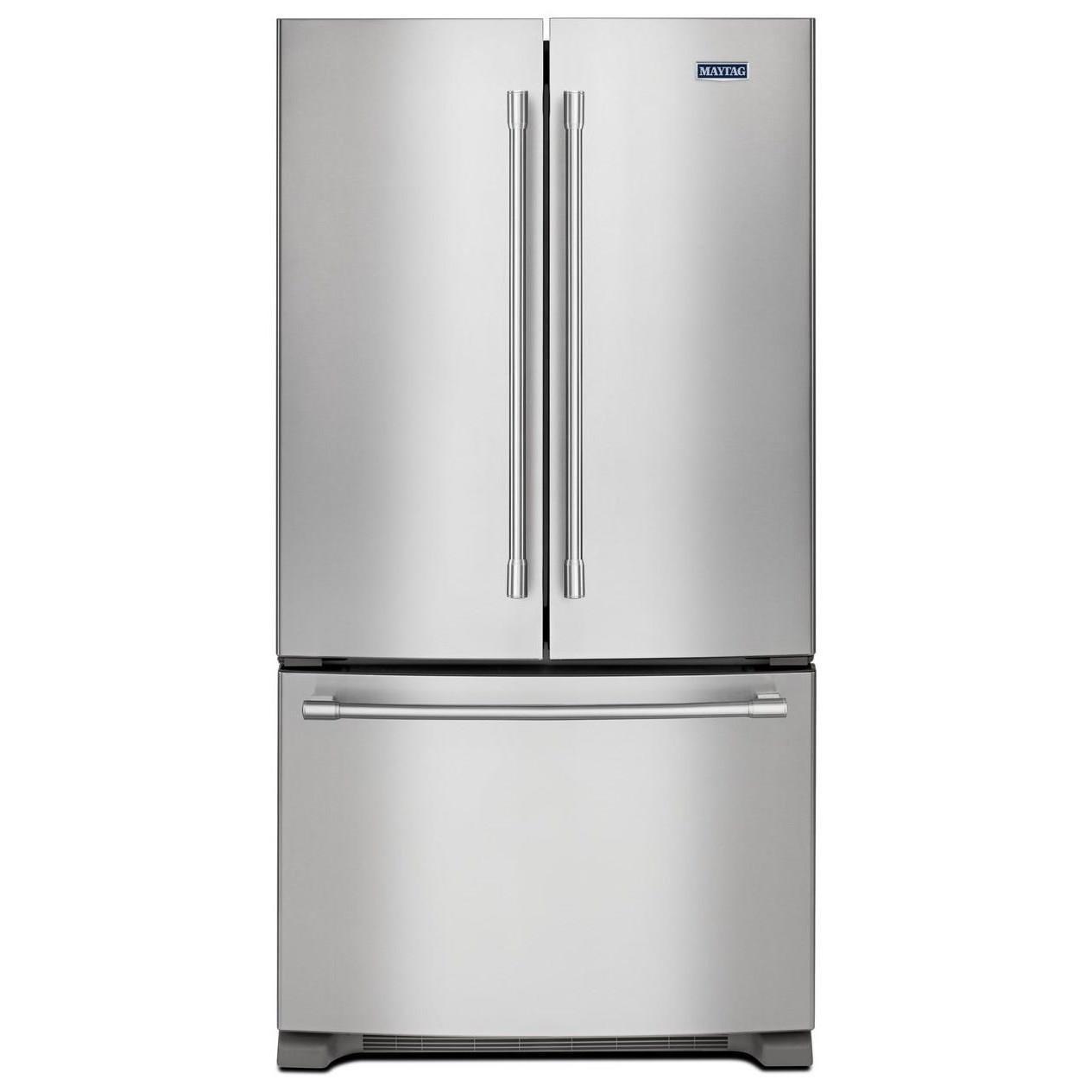 "Maytag French Door Refrigerators 36"" Counter Depth French Door Refrigerator by Maytag at Wilcox Furniture"