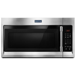 Maytag Microwaves Compact Over-The-Range Microwave - 1.7 Cu.Ft