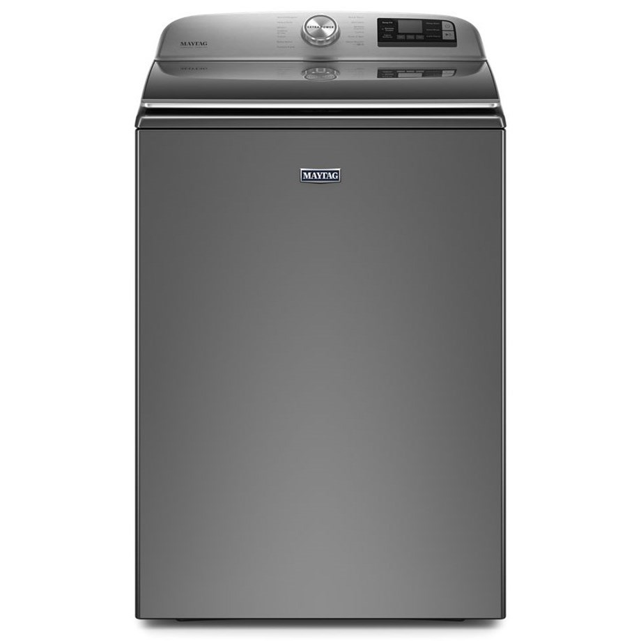 Top Load Washers 5.3 CU FT Top Load Washer by Maytag at Furniture and ApplianceMart