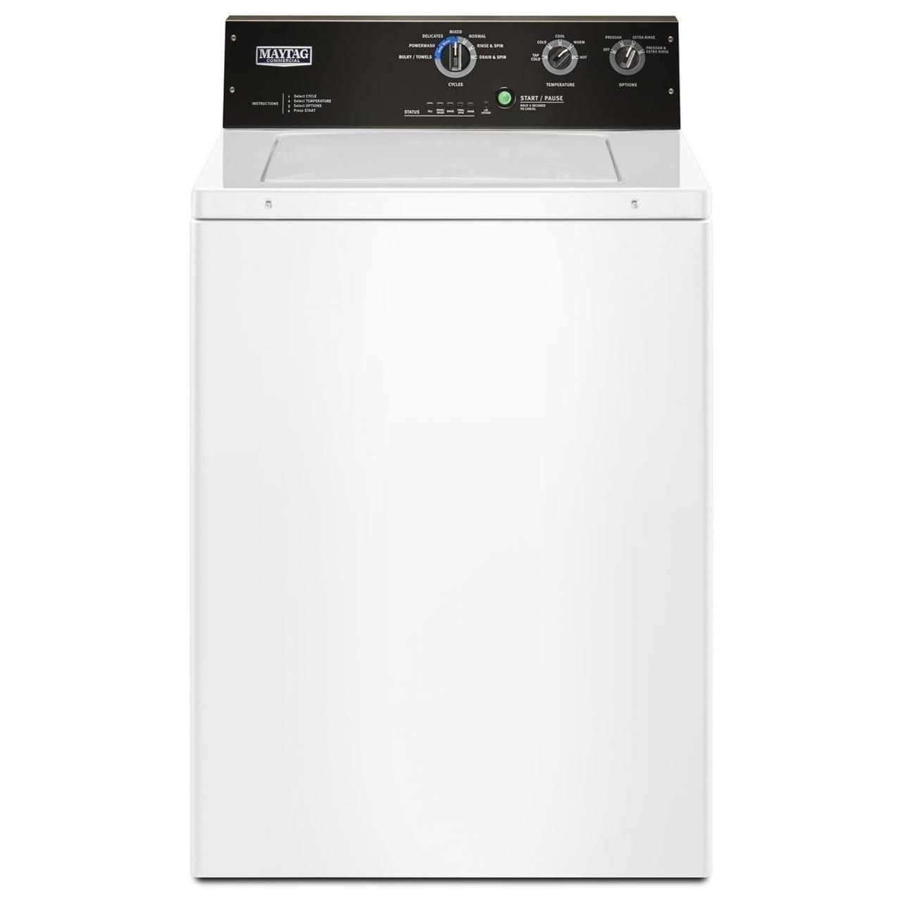 Top Load Washers 3.5 cu. ft. Commercial-Grade Residential Agi by Maytag at Furniture and ApplianceMart