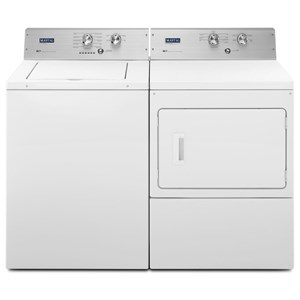 3.6 Cu. Ft. Extra-Large Capacity Top Load Washer and Extra-Large Capacity Dryer with IntelliDry® Sensor