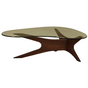 McCreary Modern Occasional Tables Boomerang Cocktail Table